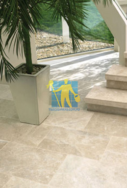 limestone tiles honed santa anna Woden Valley cleaning