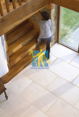 limestone tiles indoor tuscany Woden Valley cleaning