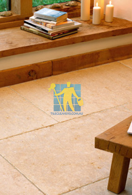 limestone tiles tumbled jerusalem gold Woden Valley cleaning
