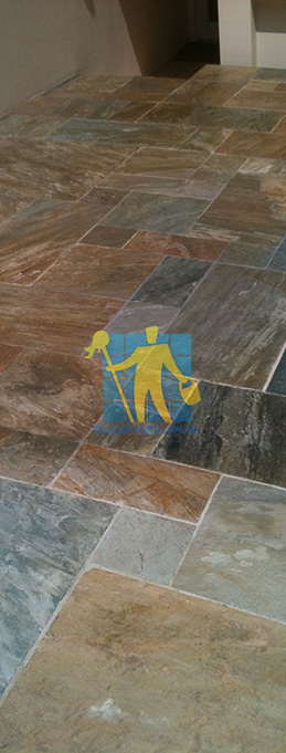 Sealing slate tiles canberra tile restoration for How to clean unsealed concrete floors